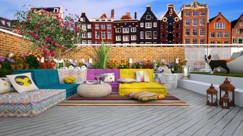 Garden terrace Amsterdam - Garden  - by meggle