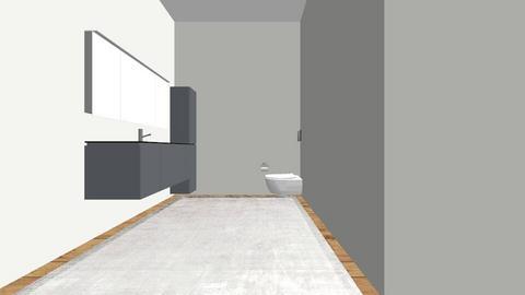 Badkamertje - Bathroom - by Kaasmonster