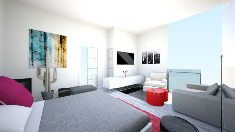 terrA - Eclectic - Bedroom  - by TaxiMarcilla TaxM