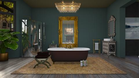 Relaxation station - Eclectic - Bathroom  - by kitty