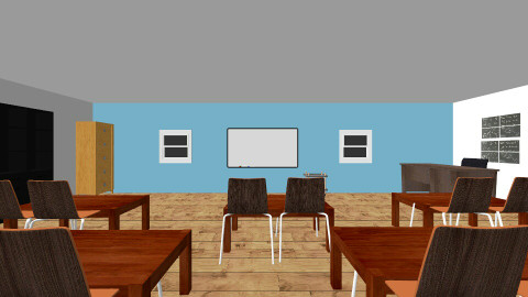 classroom - Office - by M Oneal