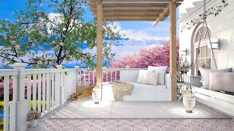 Summer Porch - by hmm22