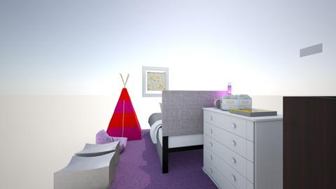 zoes room - Bedroom  - by louisezoe