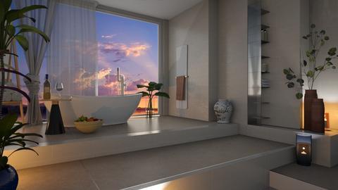 island vibes bathroom - by Lo89