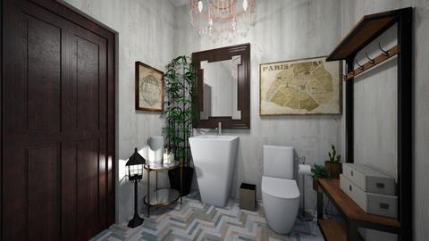 guest bathroom 96 - Bathroom - by GeGe Kanthip