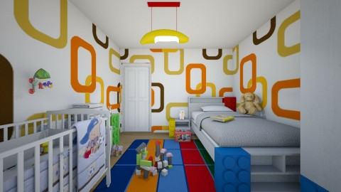 For meggle IV - Eclectic - Kids room  - by Theadora