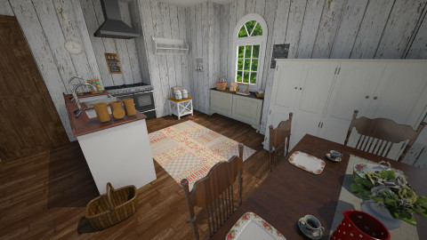 Country kitchen - Country - Kitchen - by GoliaNova