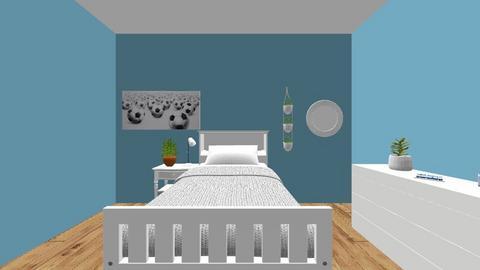 Brooklyn W_ Study Space - Bedroom  - by Brooklyn Welsh