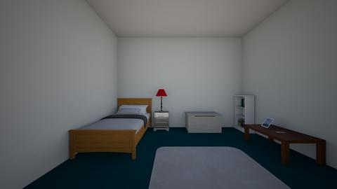 finleys bedroom - Modern - Kids room - by sliderbily