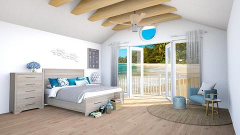 Oceanic View - Bedroom  - by lyrikkah
