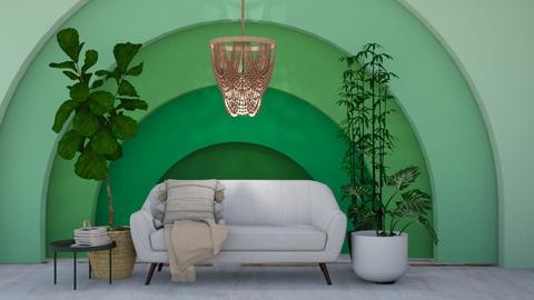 o r g a n i c living room - Modern - Living room  - by chocolatelover08