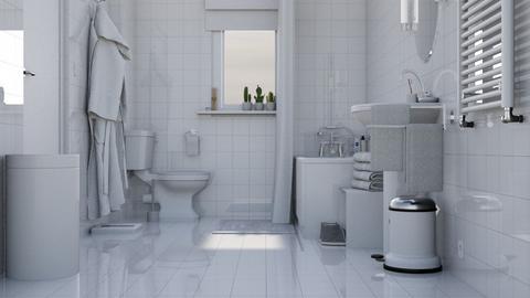 Basic Bath - Minimal - Bathroom  - by HenkRetro1960