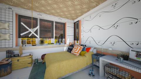 heisen mixed - Eclectic - Bedroom  - by Moeshaval