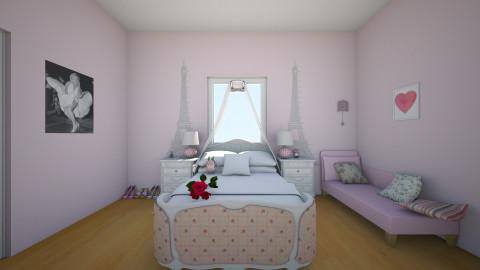 kaysie - Bedroom - by pikachuXtoriX