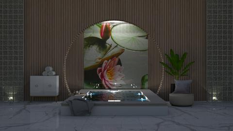 lily pond - Bathroom  - by stella_06