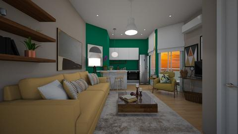small - Living room - by Grigoria Popli