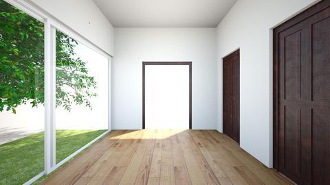 hallway - by Rystrengari