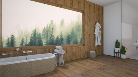 Forest Bathroom - Bathroom  - by WhyIsGamora