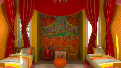 Kids Circus Room - Kids room  - by steph01mami