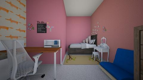 1 - Eclectic - Kids room  - by talroom