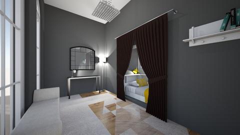 small - Bedroom  - by Elliott Ray