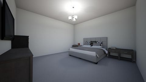 MP room  - Modern - Bedroom  - by MonPrzOli