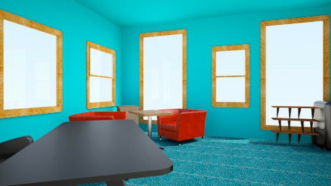 Study room - Retro - by kat_interior_designer