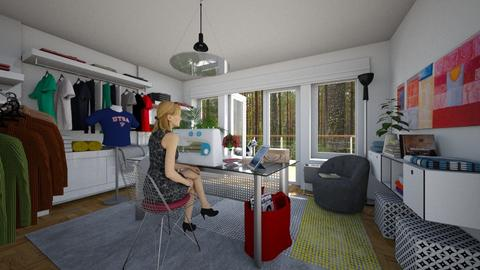 Busy Bee - Eclectic - Office  - by Theadora