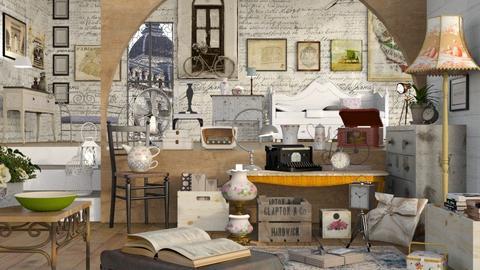 Vintage Shop - Vintage - by Sally Simpson