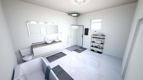 Master bath - Modern - Bathroom  - by Ella Graham