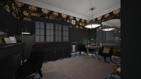 Vintage Parlor  - Vintage - Living room  - by Jodie Scalf