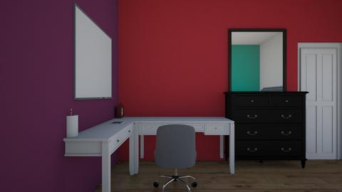 design_1 - Modern - Bedroom  - by kaleynr16