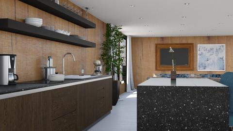 521 - Modern - Kitchen  - by Claudia Correia