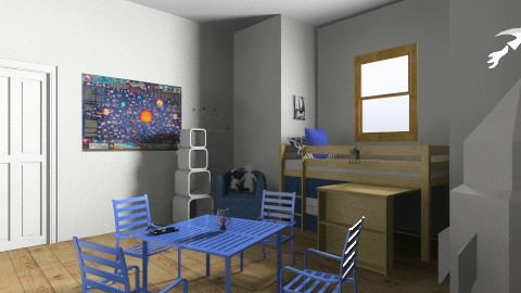 Rocket Room  - Modern - Kids room  - by mindb4matter