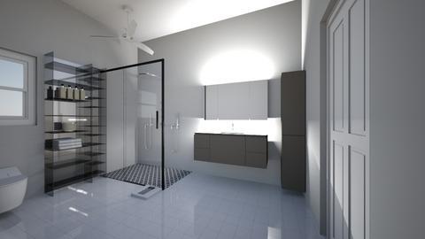 bathroom beggining - by m4x_adams16