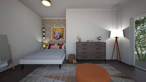 Orange Blossom Bedroom - Minimal - Bedroom  - by elladesign