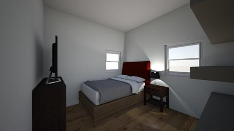 chris bed room - Bedroom - by Starkiller1569