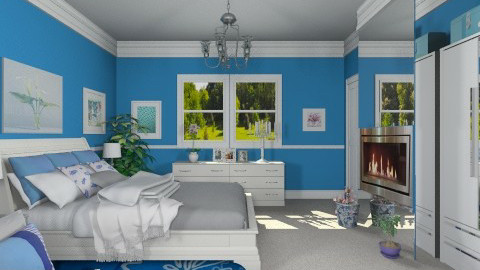 Bedroom for Martha - Modern - Bedroom  - by Bibiche