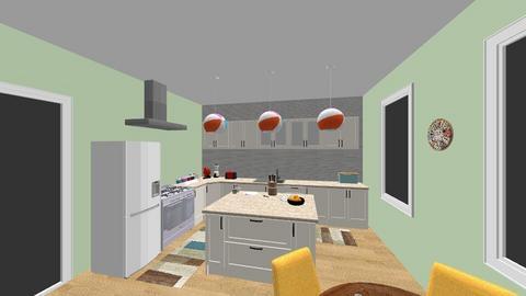Happy Kitchen - Modern - Kitchen - by Nina Colin