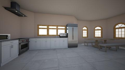 bland kitchen - Kitchen  - by dontstopmenowww