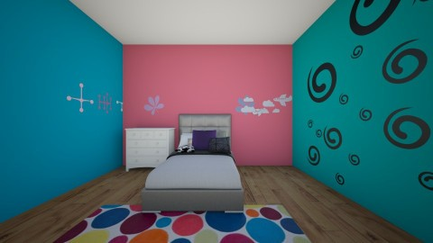 Loft fun room - Bedroom - by Flower_25