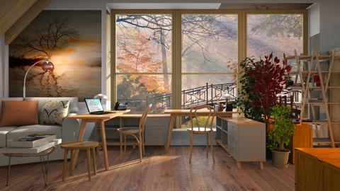 Autumn_Office - Office  - by ZuzanaDesign