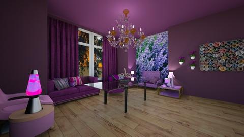 Mansion Purple - Living room - by AndrewProDesignerSIKE