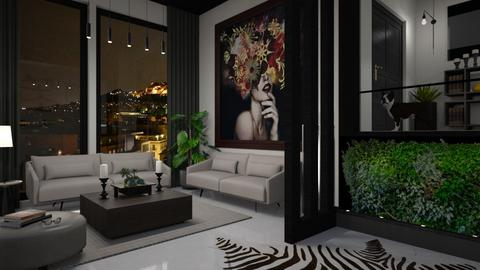 Indoor Plant Living Room - Living room  - by bigmama14