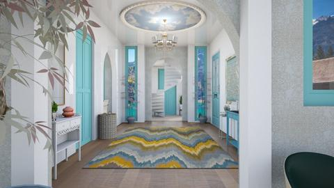 turquoise hall - by zayneb_17
