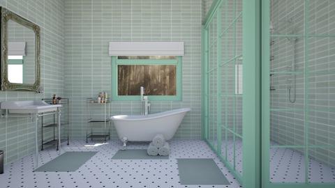 Vintage mint - Bathroom  - by Samhain