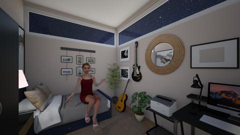 Bedroom ARVT3 4 - Modern - Bedroom  - by alilabs
