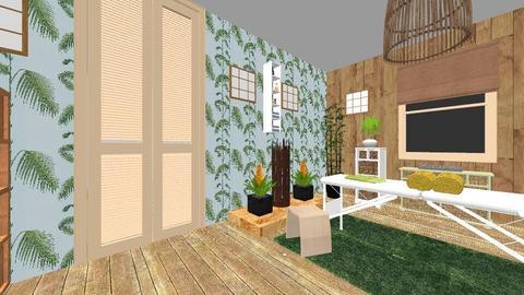 Plan demisol Romulus - Bathroom - by TusaTimea