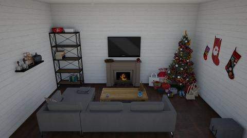 Holiday cheer - Living room  - by DreamerStar202