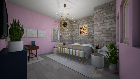 Cute bedroom for a girl - Bedroom  - by mayaann_10